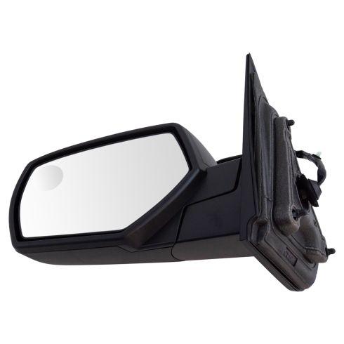 14-17 Silverado, Sierra 1500; 15-17 2500, 3500 Power Heated Blind Spot Textured Black Mirror LH
