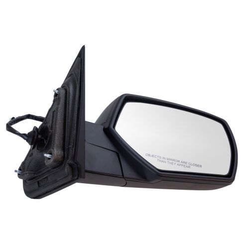 14-17 Silverado, Sierra 1500; 15-17 2500, 3500 Power Heated Textured Black Mirror RH