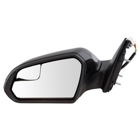 Gold Shrine for 2012 2013 2014 Hyundai Accent Power Heated Side Mirror Passenger Side Replacement