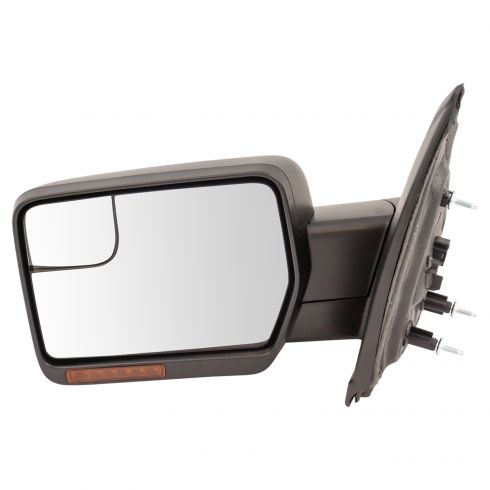 New Passenger Side Power In-House Signal Door Mirror For Ford F150 2011-2014