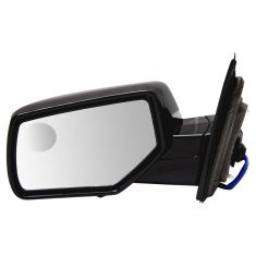 15-18 GM FS SUV Power Heated w/Spotter Glass UPGRADE Mirror w/Dual Checker PTM Caps LH