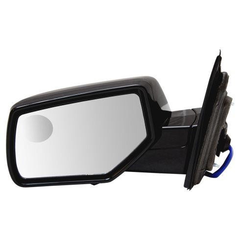 15-18 GM FS SUV Power Heated w/Spotter Glass UPGRADE Mirror w/Dual Checker PTM Caps LH