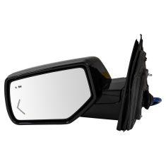 15-18 GM FS SUV Pwr FLD Htd MEM w/BSM & LED TS, PL, UPGRADE Mirror w/Dual PTM Checker Caps LH