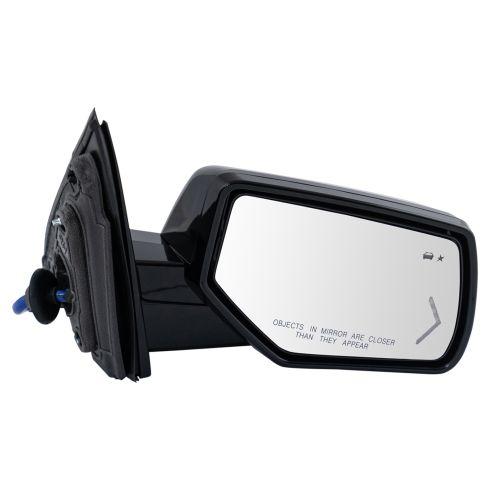15-18 GM FS SUV Pwr FLD Htd MEM w/BSM & LED TS, PL, UPGRADE Mirror w/Dual PTM Checker Caps RH