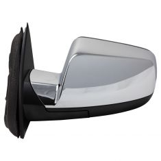 16-17 Chevy Equinox, GMC Terrain Power, Heated, Memory w/Blind Spot Indicator & Chrome Cap Mirror LH