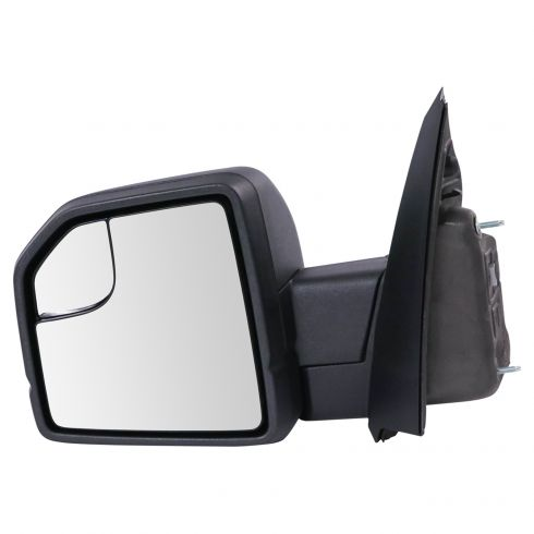 15-19 Ford F150 Textured Black Power Mirror w/Spotter Glass LH (Ford)