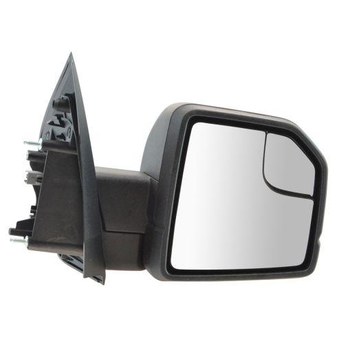 15-16 Ford F150 Textured Black Power Mirror w/Spotter Glass RH (Ford)