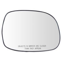 01-07 Sequoia; 00-06 Tundra Power (Non Heated) Mirror Glass w/Backing RH