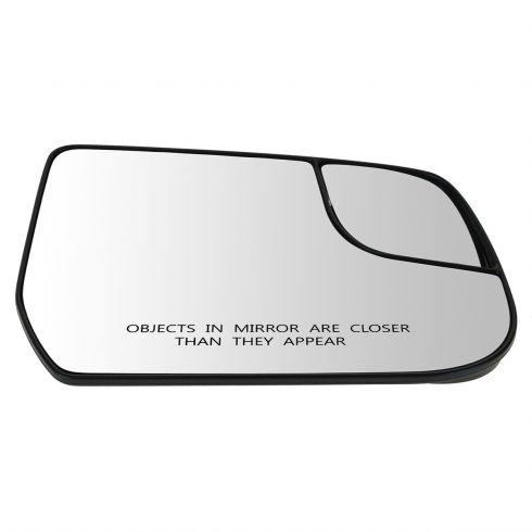 12-13 Chevy Equinox, GMC Terrain Power Mirror Glass w/Backing Plate RH