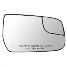 12-13 Chevy Equinox, GMC Terrain Power Heated Mirror Glass w/Backing Plate RH