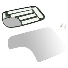 94-08 Ram 1500; 94-09 2500, 3500; 05-15 Tacma (w/TS on CC Head) Tow Mirr HTD Dual Glass w/Mtg Plt RH