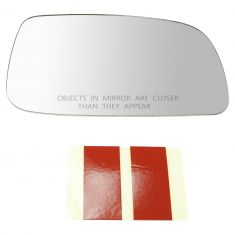 07-11 Toyota Camry (US Built) (4-1/16 x 6-11/16 x 7-1/4 in) Unheated Mirror Glass w/o Backing RH