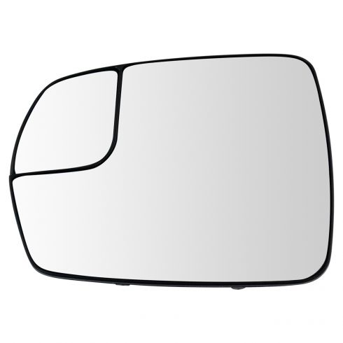 Mirror Glass For 15-18 Ford Edge Passenger Side Replacement