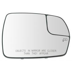 ROADFAR Heated Driver Side Exterior Mirror Glass Fit Compatible with 2007 2008 2009 2010 2011 for for for for Ford Edge 2007-2010 Lincoln MKX