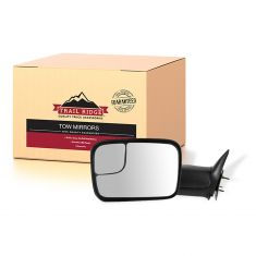 94-02 Dodge Ram PU Manual Tow Mirror w/Brkt LH (TR)