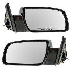 1988-01 Chevy CK Truck Manual Mirror Black Pair