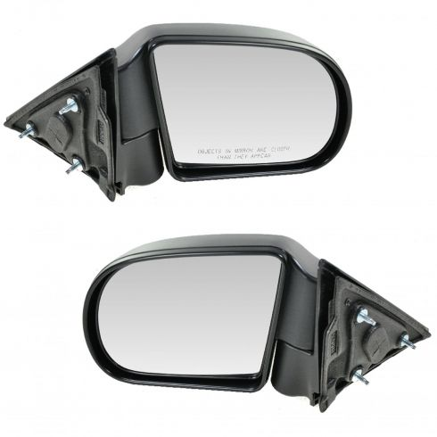 Black Textured Manual Side View Mirror Passenger Right RH for Blazer S10 Jimmy