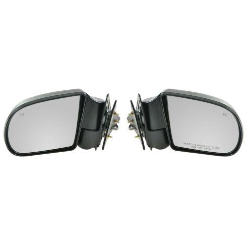 1999-04 S10 S15 Blazer Jimmy Envoy Power Heated Mirror Pair