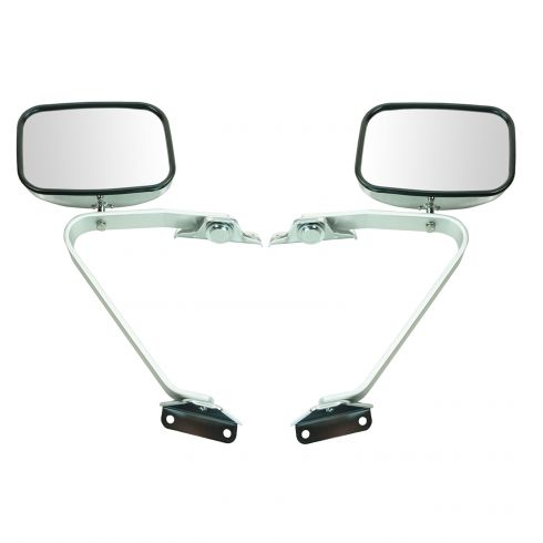 Ford Pickup Bronco Bronco II Explorer Ranger Set of Manual Side View 5x8 Mirrors