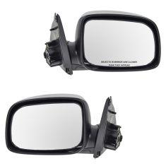 04-11 Chevy Colorado, GMC Canyon; 06-08 Isuzu PU Manual Mirror PAIR