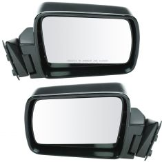 1984-94 Cherokee Comanche Wagoneer Manual Mirror Pair
