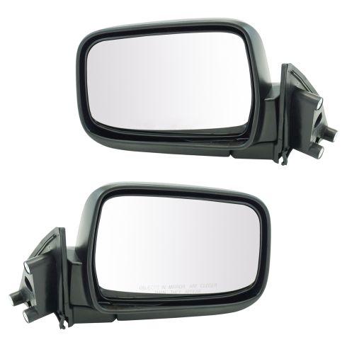 2000-04 Nissan Xterra Manual Mirror Pair