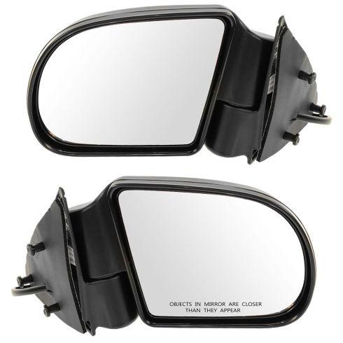 94-04 S10 Blazer Pickup Envoy Jimmy Sonoma Bravada Mirror Pair
