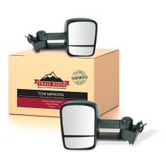 98-00 Chevy GMC SUV Suburban Power Heated Towing Mirror Pair (Upgrade) (TR)