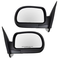 02-09 Chevy Trailblazer Manual Folding Mirror PAIR