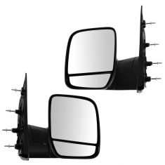 02-07 Ford Van Pedestal (dual glass) Man Mirror PAIR
