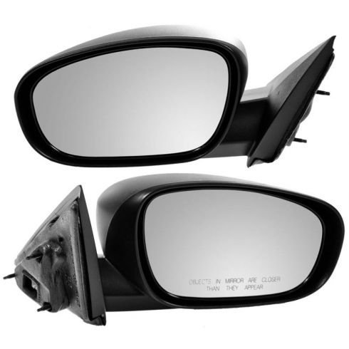 06-10 Charger Magnum 300 Heated Power Textured Fixed Mirror PAIR