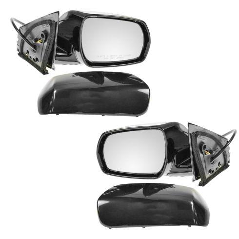 Smooth Black Power Door Mirror Right RH Passenger Side For 05-07 Nissan Murano
