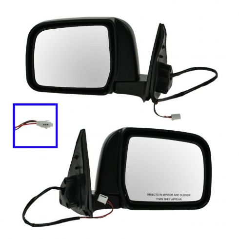 TO1321183 TO1320183 New Set of 2 Mirrors Driver /& Passenger Side LH RH Pair