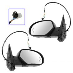 07-11 GM FS PU, SUV Power Folding Htd w/Signal, Puddle Light PTM Cap Mirror PAIR