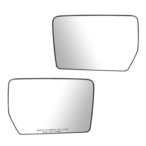 06-08 Lincoln Mark Lt Driver Side Mirror Glass With Back Plate