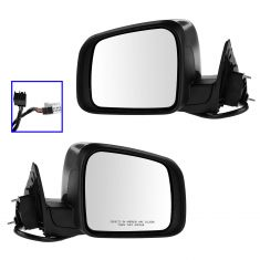 11-13 Jeep Grand Cherokee Power, Htd, w/Memory, Turn Signal, Blind Spot Indicator PTM Cover Mir PAIR