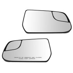 12-13 Chevy Equinox, GMC Terrain Power Mirror Glass w/Backing Plate PAIR