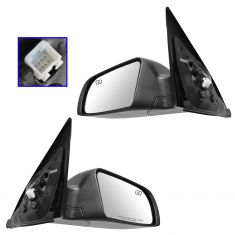 07-12 Nissan Altima Sedan; 07-11 Altima Hybrid Power, Heated, w/LED Turn Signal PTM Mirror PAIR