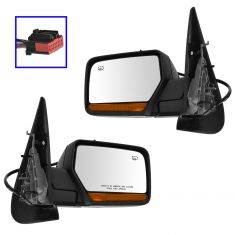 07-13 Expedition, Navigator Power Fold, Htd, Pud Light, Memory, LED Turn Signal Text Bl Mirror PAIR