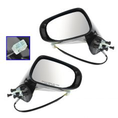 09-13 Lexus IS250, IS350 Power Heated Puddle Light Signal PTM Mirror PAIR