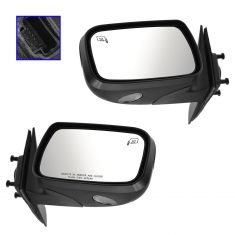 08-09 Taurus, Sable Power Heated Puddle Light PTM Mirror PAIR