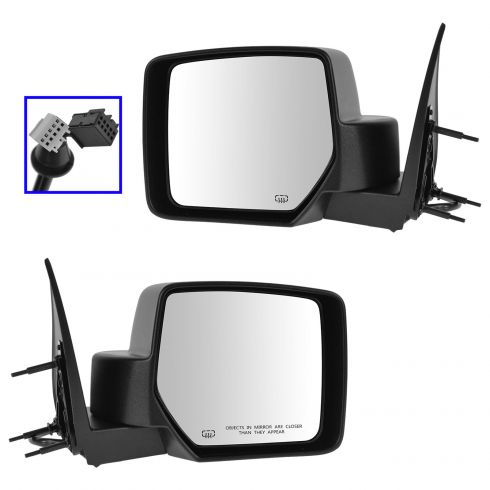 Power Heated Side View Mirror Folding Passenger Right RH NEW for 08-12 Liberty