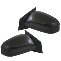 14 (from 11/14)-16 Toyota Rav4 Power Mirror (w/Convex Spotter Glass) w/Textured Black Cap Pair