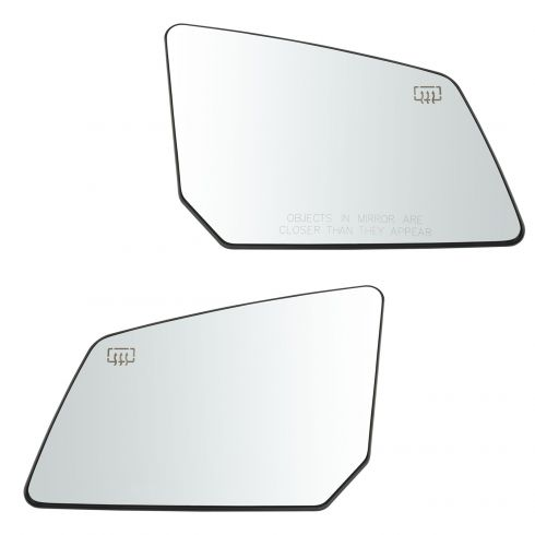 NEW Mirror Glass WITH BACKING HEATED ACADIA OUTLOOK Passenger Right Side