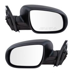 10-11 Hyundai Accent HB Power Textured Black Mirror PAIR