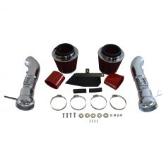 08-13 Infiniti G37; 09-15 Nissan 370Z Cold Air Intake w/ Red Filter