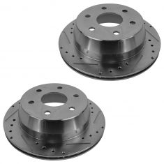 1999-06 Silverado Sierra Tahoe Escalade Astro Performance Brake Rotor Rear Pair