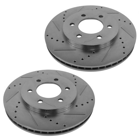 Front Rear Brake Rotors Brake Pads for Ford Expedition /& Lincoln Navigator 03-06