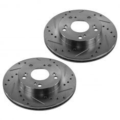 04-07 Civic; 06-11 Civic Hy; 02-06 RSX Front Performance Disc Brake Rotor Pair