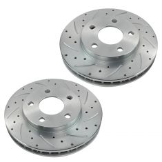 1997-05 Venture Bonneville Grand Prix Front Performance Disc Brake Rotor Pair